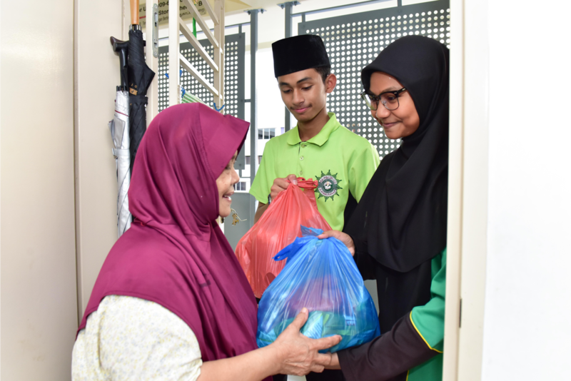 Muslims helping others also part of Hijrah.
